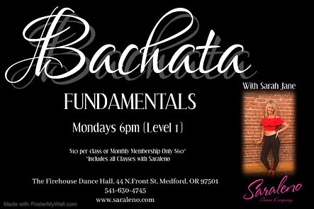 Bachata Fundamentals - Made with PosterM
