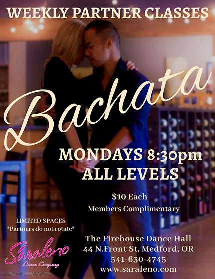 Weekly Bachata Partner Classes April - M