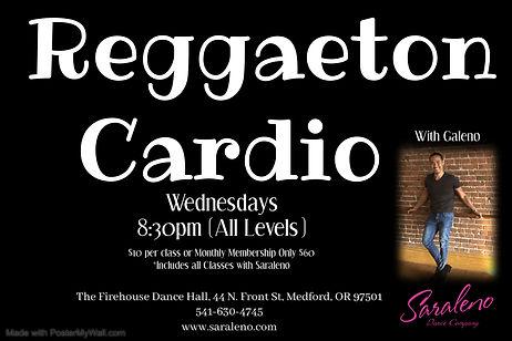 Reggaton Cardio - Made with PosterMyWall