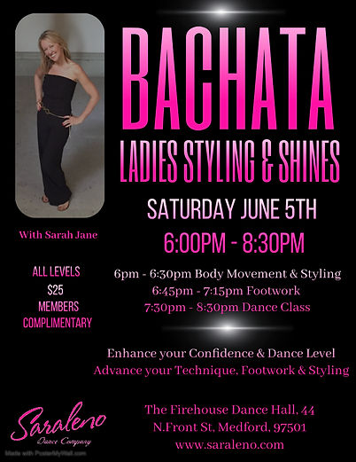 Bachata Ladies Styling - Made with Poste