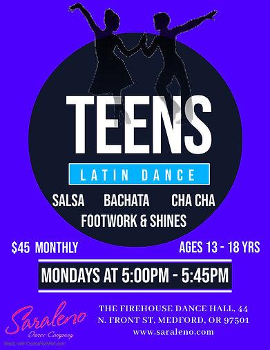 Teens Latin Dance - Firehouse - Made wit