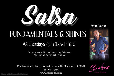 Salsa Fundamentals - Made with PosterMyW