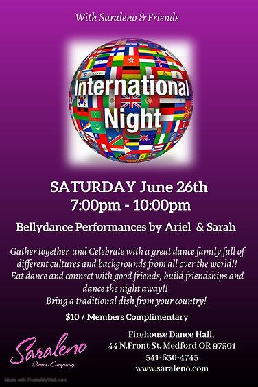 International Night - Made with PosterMy