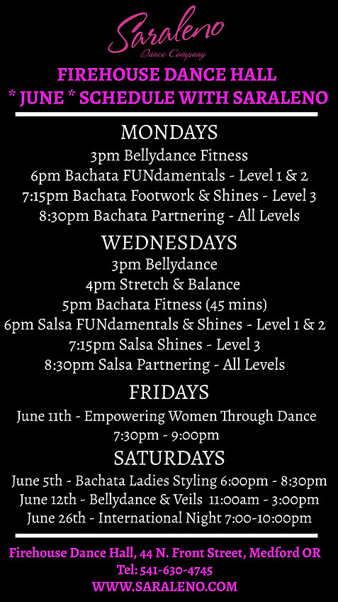 June Firehouse Schedule - Made with Post