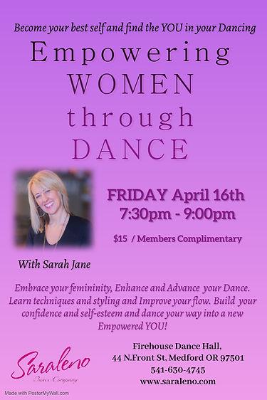 Empowering Women through Danceines with