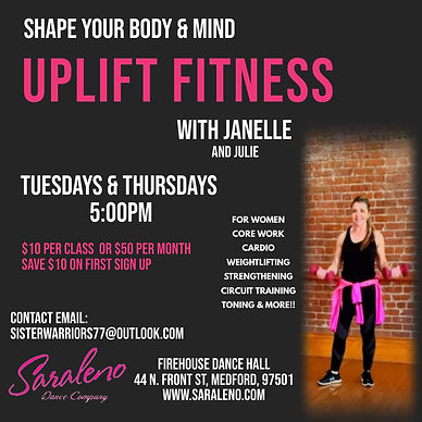 Uplift Fitness with Janelle - Made with