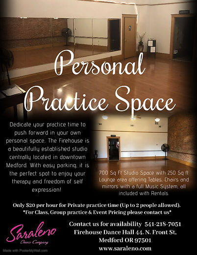 Personal Practice Space - Made with Post