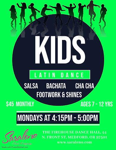Kids Latin Dance - Firehouse - Made with