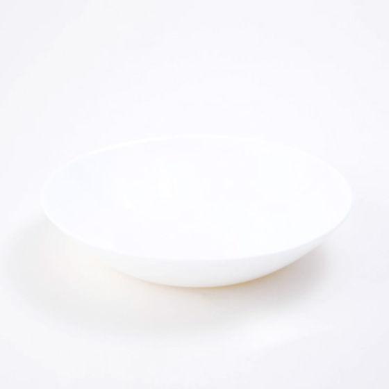 biała miska