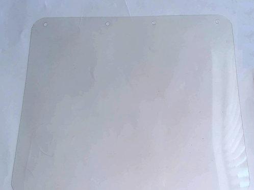 Apsauginio skydo PET plastiko skydeliai (10vnt.) 255x225mm