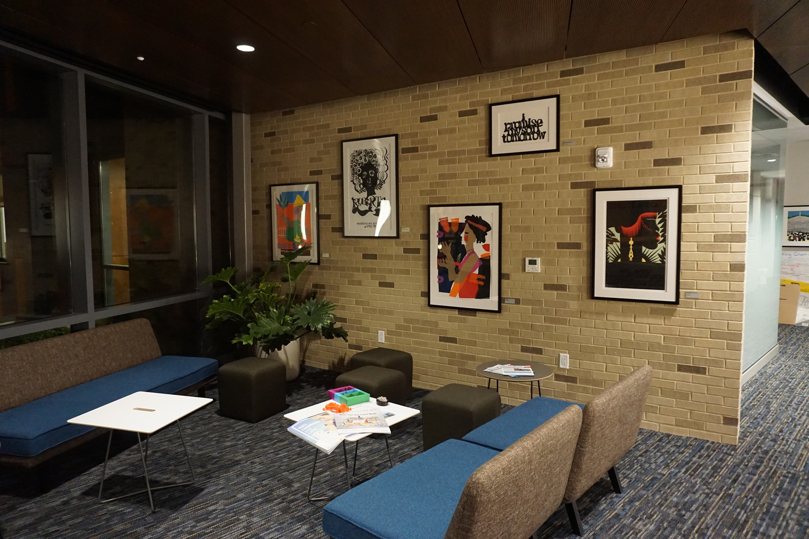 Art Installer  new headquarters in Ward 8  Martha's Table