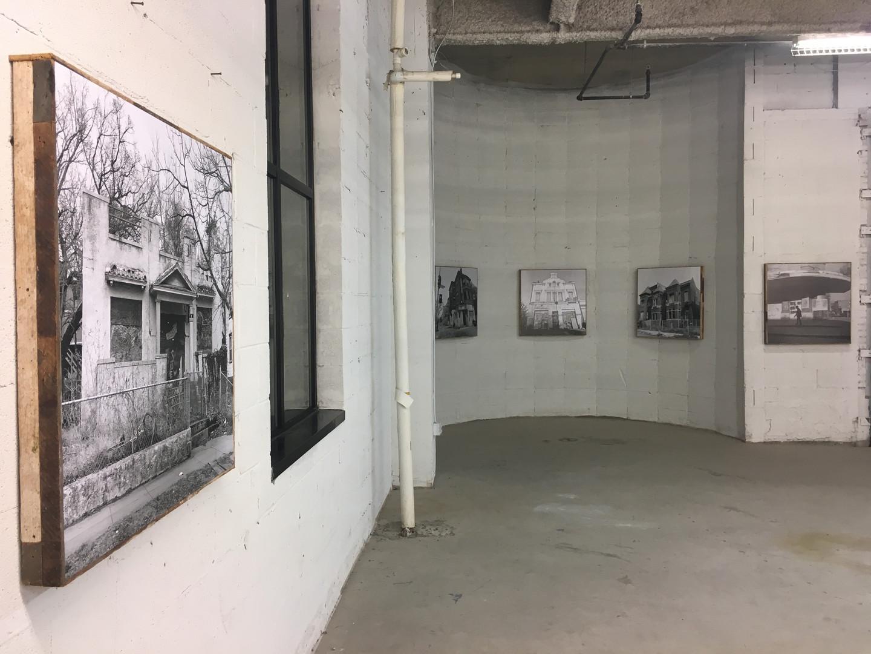Curator and Art Installer  photographer Steven M. Cummings exhibit for Fotoweek  City First Foundation