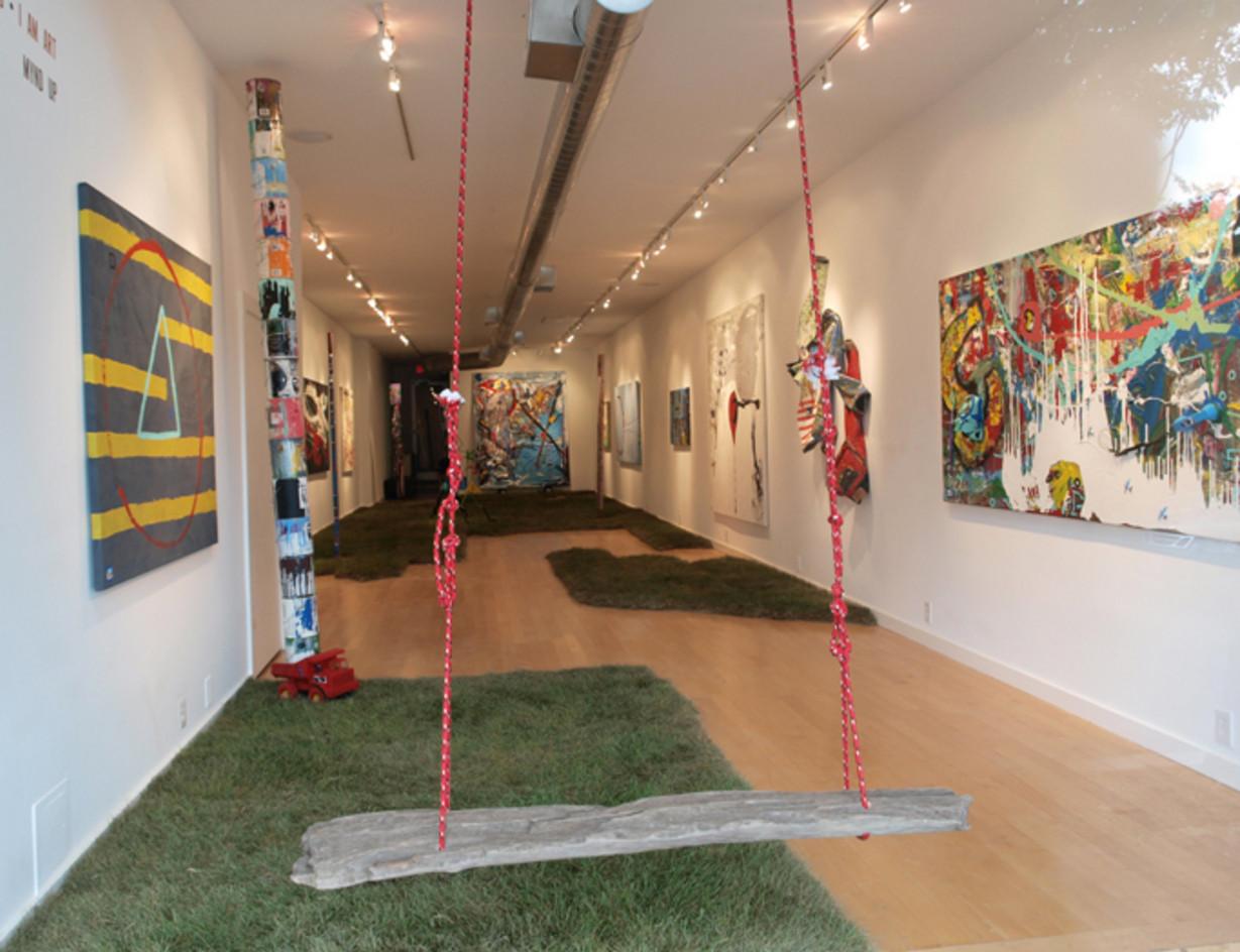 Curator and Creative Director   artist BK I AM ART Adams  Honfleur Gallery