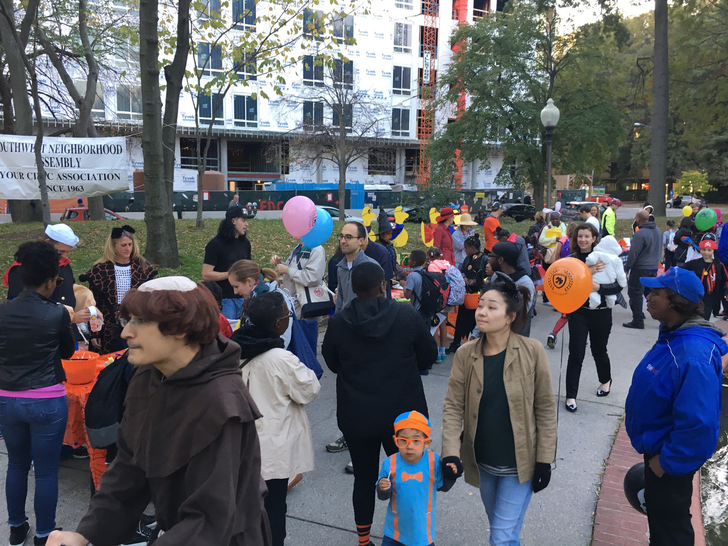 Manager of Community Events and Special Projects   created a community Halloween event at the SW Duck Pond   SWBID