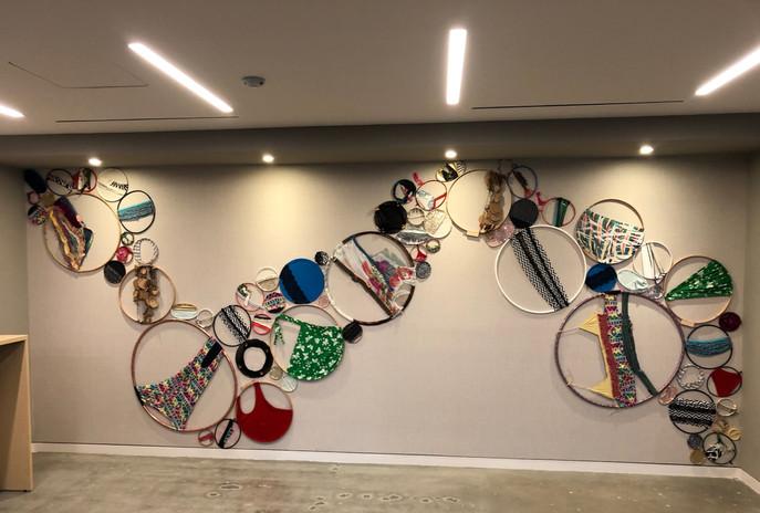 Art Installer  artist Amber Robles-Gordon