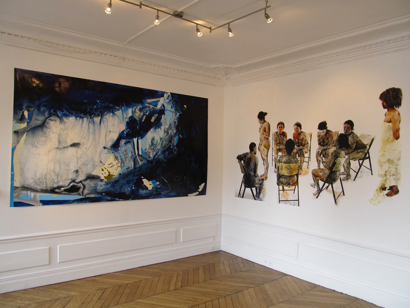 Curator and Creative Director   awarded a DCCAH's sister cities grant with a gallery in Paris to exhibit Michael B. Platt and Katherine Tzu-Lan Mann's work  Honfleur Gallery