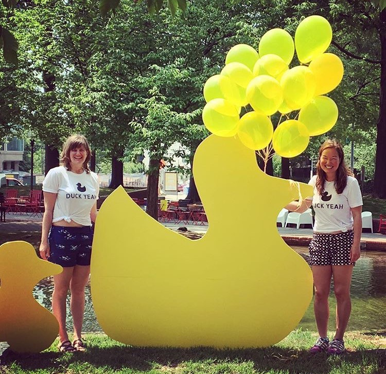 Co-creator and Project Manager  Duck Drop at the Southwest Duck Pond  partnered with The Pinkline Project for the SWBID