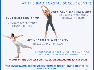 COED GROUP FITNESS CLASSES