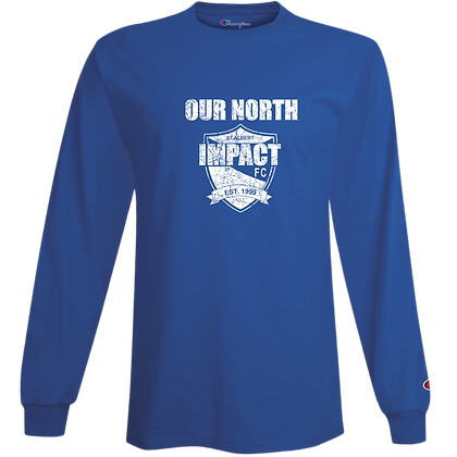 OUR NORTH Long Sleeve Cotton Tee