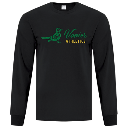 LONG SLEEVE TEE with  Athletic Logo