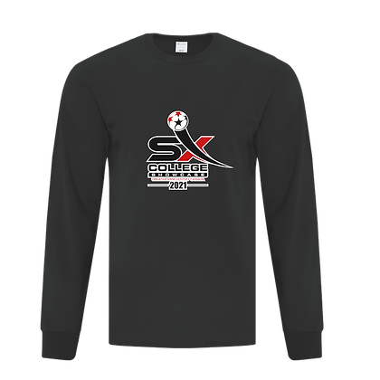 LONG SLEEVE TEE with large showcase logo