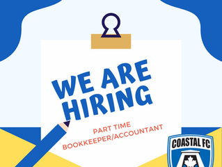 WE ARE HIRING - Bookkeeper/Accountant - Part-time
