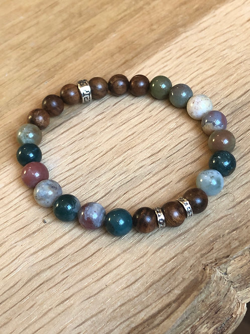 Bracelet de perles naturelles
