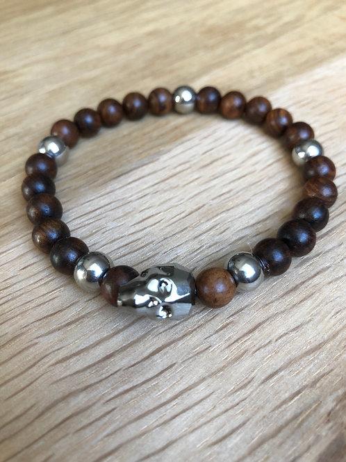 Bracelet tête de mort Swarovski