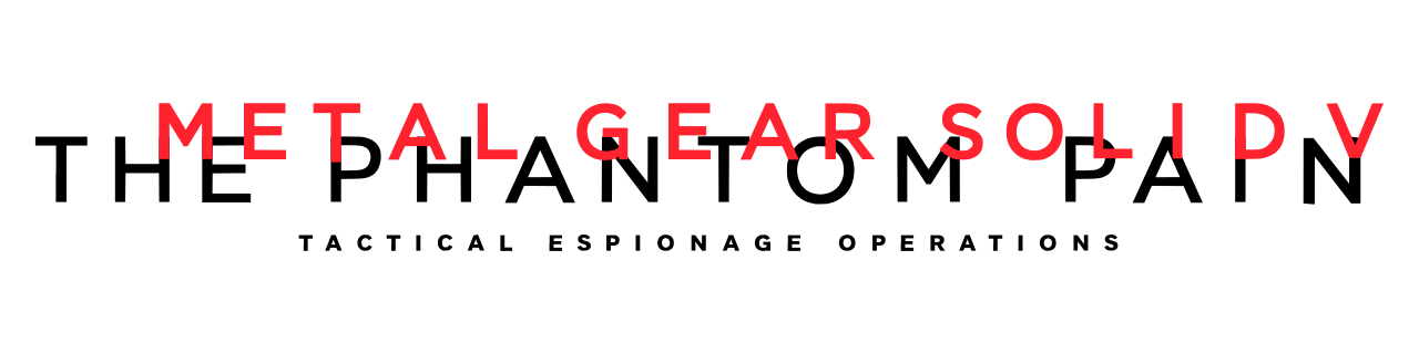 Metal Gear Solid V_The Phantom Pain