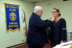 McLaughlin Inducted into Rotary Club