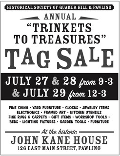 'Trinkets to Treasures' Tag Sale Returns Friday, July 27 – Sunday, July 29