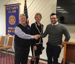 Rotary Inducts Another New Member