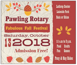 Pawling Rotary's Fabulous Fall Festival Set for Saturday, October 13