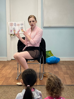Ballerina Story Hour at Pawling Library
