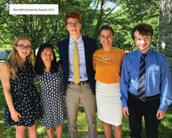 Akin Hall Association Awards $50,000 to PHS Graduates