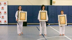 Pawling Karate Celebrates New Black Belts