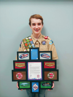 Local Scout Earns Invitation to Puerto Rico, Creates 'Merit Badge in a Box'