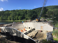 Whaley Lake Dam Nears Completion