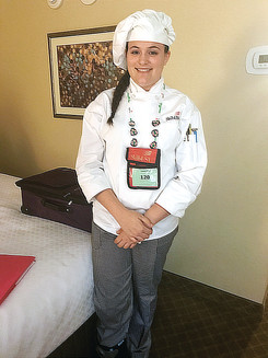 PHS Junior Attends National SkillsUSA Culinary Arts Competition