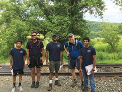 Hikers Enjoy Trail Magic Day