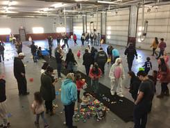 Easter Egg Hunt 2018 at the Pawling Fire Dept.