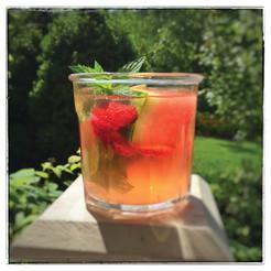 Cocktail Corner:  Strawberry Watermelon Sangria