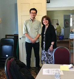 Director Daniel Hasse Welcomed by Pawling Shakespeare Club