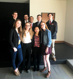 PHS Team Competes in State Mock Trial Program