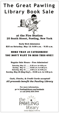 The Great Pawling Library Book Sale Is Coming in May