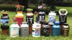 2018 ArtEast Public Art Project: Milk Cans