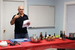 Pawling Library Holds Blue Olive Oil and Vinegar Tasting Seminar
