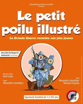 Theatre des Brunes - Le petit poilu illustré