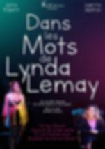 AFFICHE WEB  Dans mes mots de Lynda Lema
