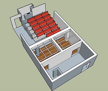 Theatre des brunes plan 1